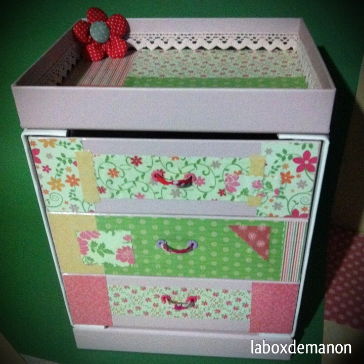 diy petite commode by laboxdemanon laboxdemanon. Black Bedroom Furniture Sets. Home Design Ideas