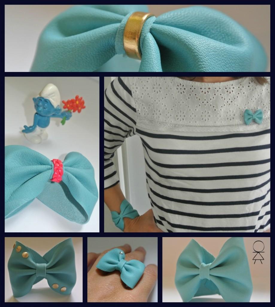 Les Jolies Noeuds de Little Madame dans PAPOTAGE collageturquoise